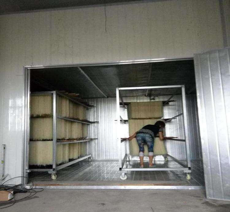 桂林米粉干燥工艺改造工程