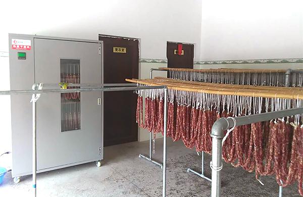 三水黄姨使用腊肉烘干机成功的案例